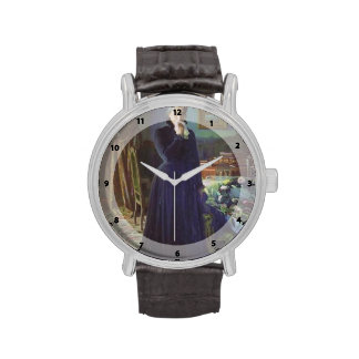 Pena inconsolable de Ivan Kramskoy- Relojes
