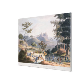 Pena Macor, engraved by C. Turner Stretched Canvas Prints