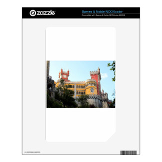 Pena Palace, Sintra, near Lisbon, Portugal, Europe Decal For NOOK Color