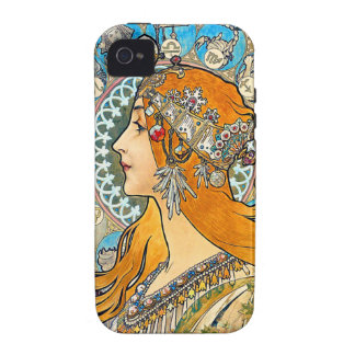 Penacho del La de Mucha Case-Mate iPhone 4 Funda