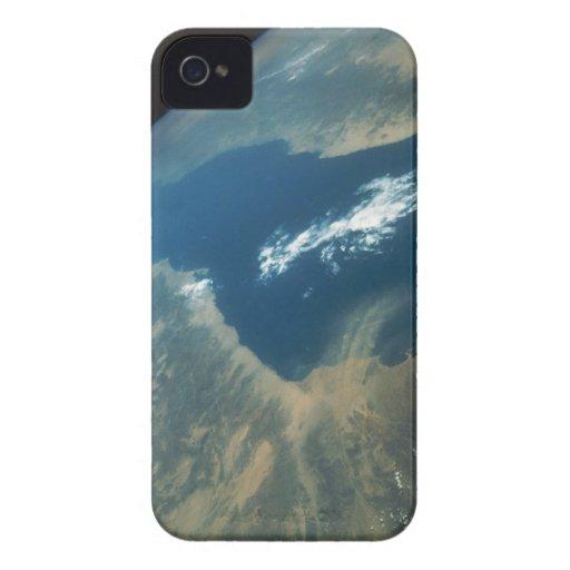 Penacho del polvo sobre el Mar Rojo Case-Mate iPhone 4 Cobertura
