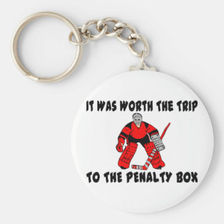 Penalty Box Keychain
