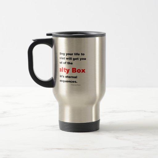 penalty box travel mug