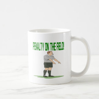 Penalty On The Field Coffee Mug