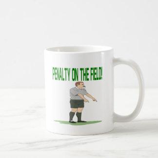 Penalty On The Field Coffee Mug
