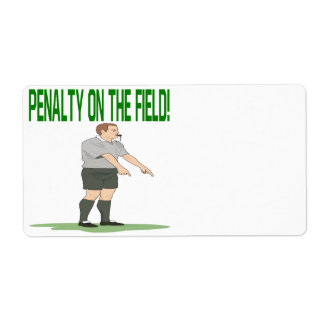 Penalty On The Field Label