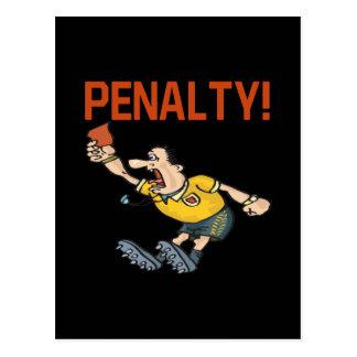Penalty Postcard