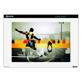 "Penalty Shot 15"" Laptop Skin"