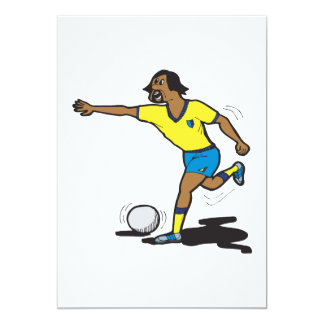 "Penalty Shot 5"" X 7"" Invitation Card"