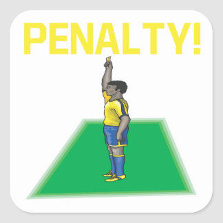 Penalty Square Sticker