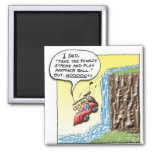 Penalty Stroke 2 Inch Square Magnet
