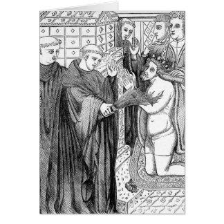 Penance of Henry II Card