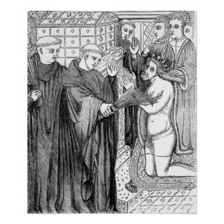 Penance of Henry II Poster
