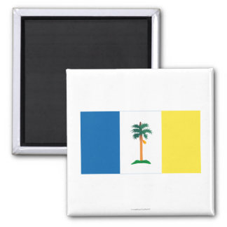 Penang flag 2 inch square magnet