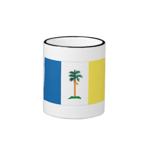 Penang flag ringer coffee mug