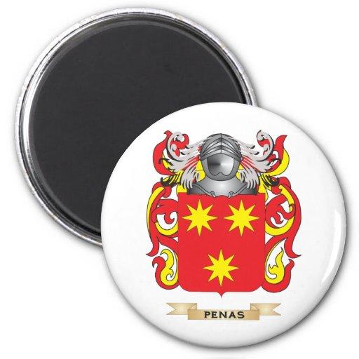 Penas Coat of Arms (Family Crest) Fridge Magnet
