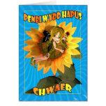 Penblwydd Hapus Chwaer - hermana del feliz Tarjetas