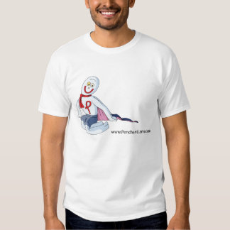 Penchant Lama sitting illustration T-shirt