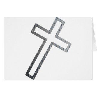 Penchée de Croix métal Felicitacion
