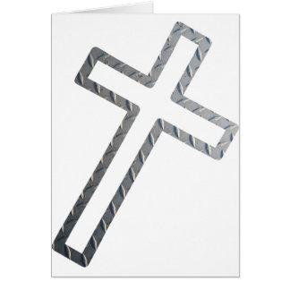 Penchée de Croix métal Tarjetas