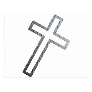 Penchée de Croix métal Postal