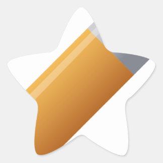 pencil-190 star sticker