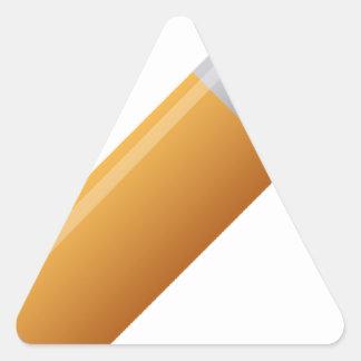 pencil-190 triangle sticker