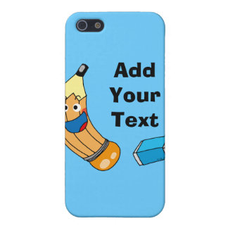 Pencil and eraser back to school iPhone 5 case