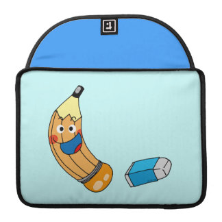 Pencil and eraser back to school MacBook pro sleeve