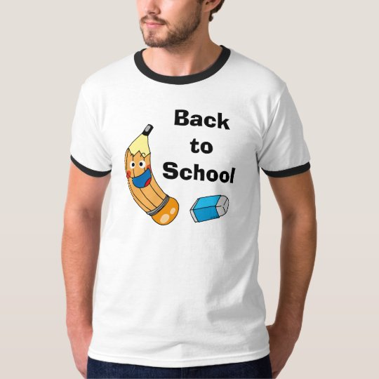 Pencil and eraser, back to school T-Shirt