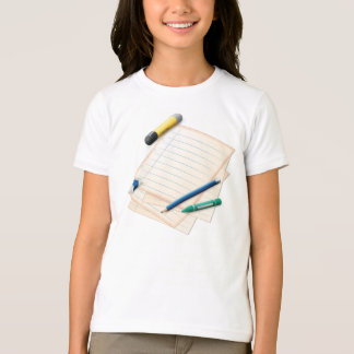 Pencil and Paper Girls T-Shirt