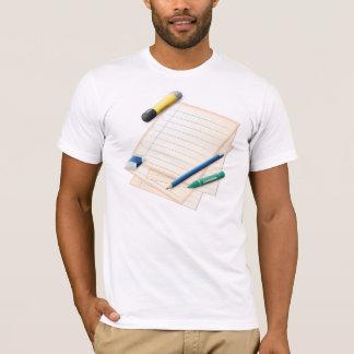 Pencil and Paper Mens T-Shirt