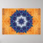Pencil Art Mandala Poster