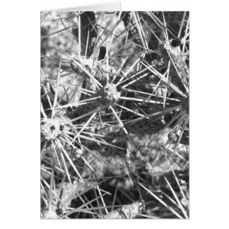 Pencil Cactus Greeting Card