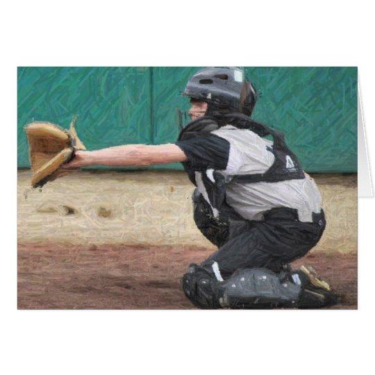 pencil catcher card