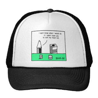 Pencil chat. trucker hat