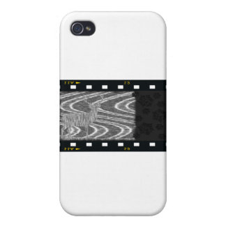 Pencil deer parched brooks film frame iPhone 4/4S cases
