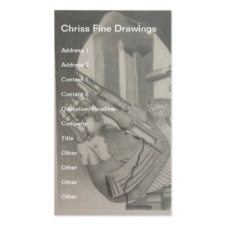 Pencil Drawing  Business Card
