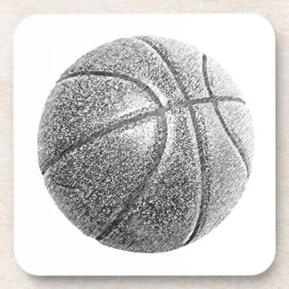 Pencil Effect Basketball Coaster