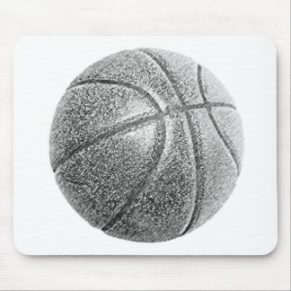 Pencil Effect Basketball Mouse Pad