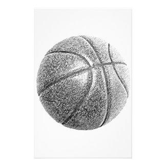 Pencil Effect Basketball Stationery