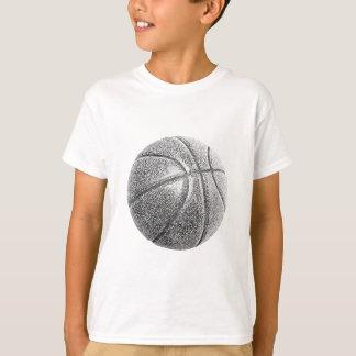 Pencil Effect Basketball T-Shirt