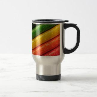 Pencil fashion 15 oz stainless steel travel mug