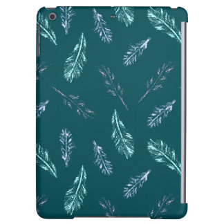 Pencil Feathers Glossy iPad Air Case