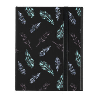 Pencil Feathers iPad 2/3/4 Case with No Kickstand