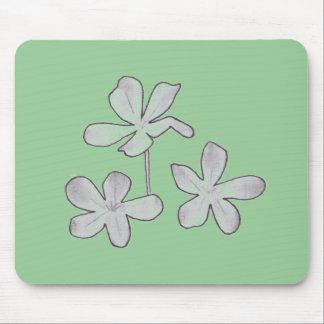 Pencil Flowers Mouse Pad
