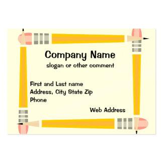 Pencil Framed Business Card
