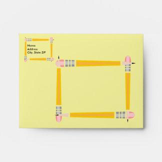 Pencil Framed Envelopes
