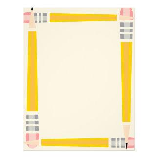 Pencil Framed Letterhead