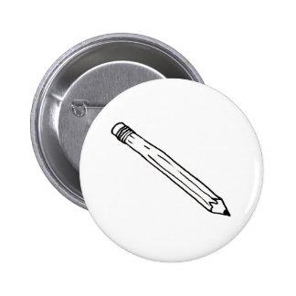 Pencil - fun simple line drawing symbol logo art buttons